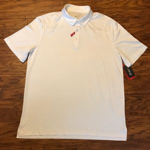 bcg Shirts - BCG Men's White Golf Polo Shirt